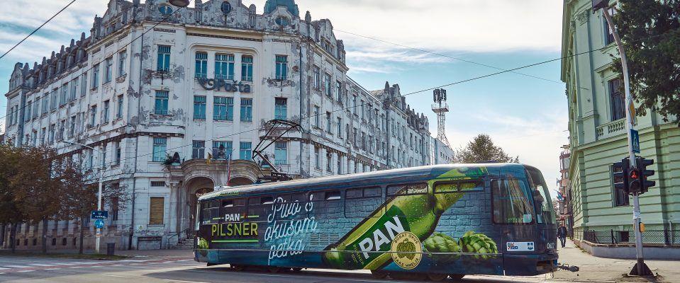 Pan Pilsner se vozi Osijekom